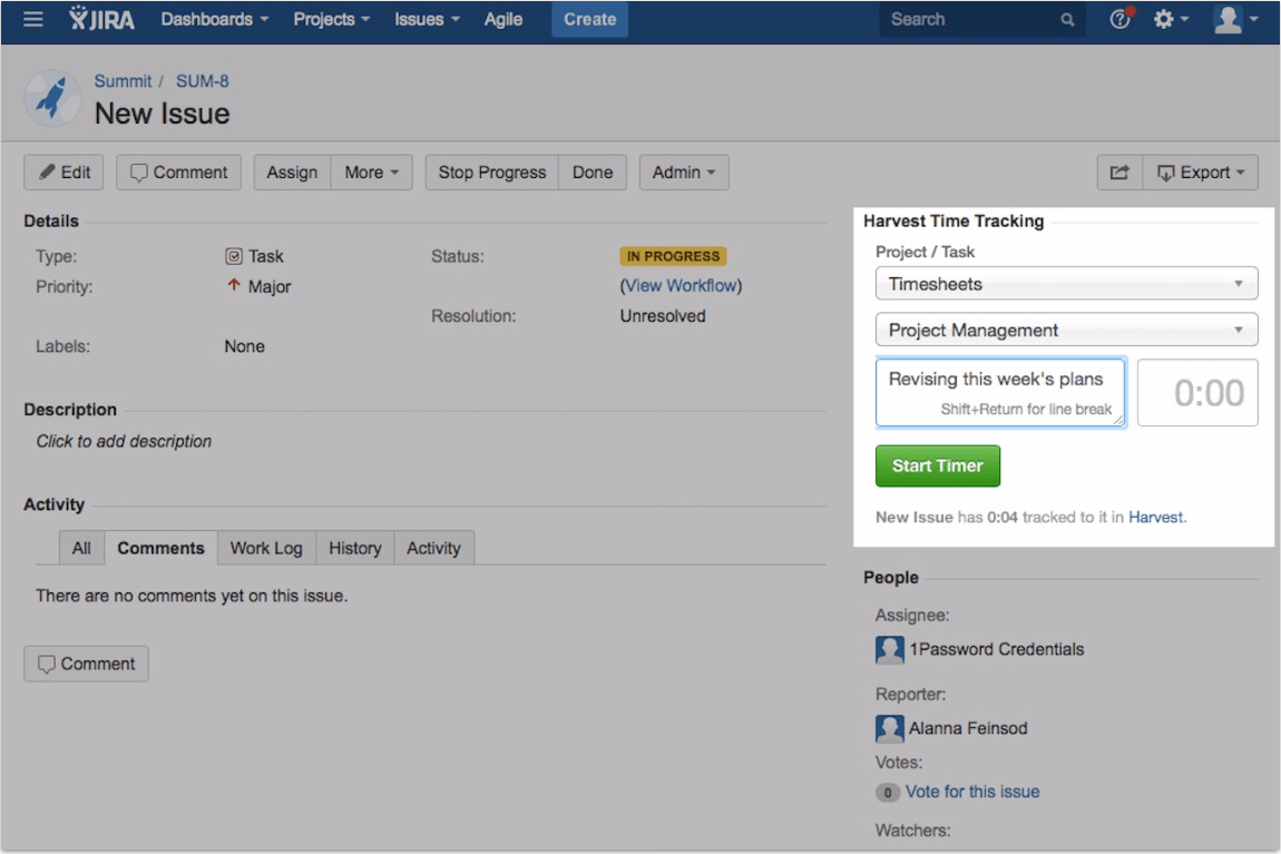 Integrate Jira issues with your application