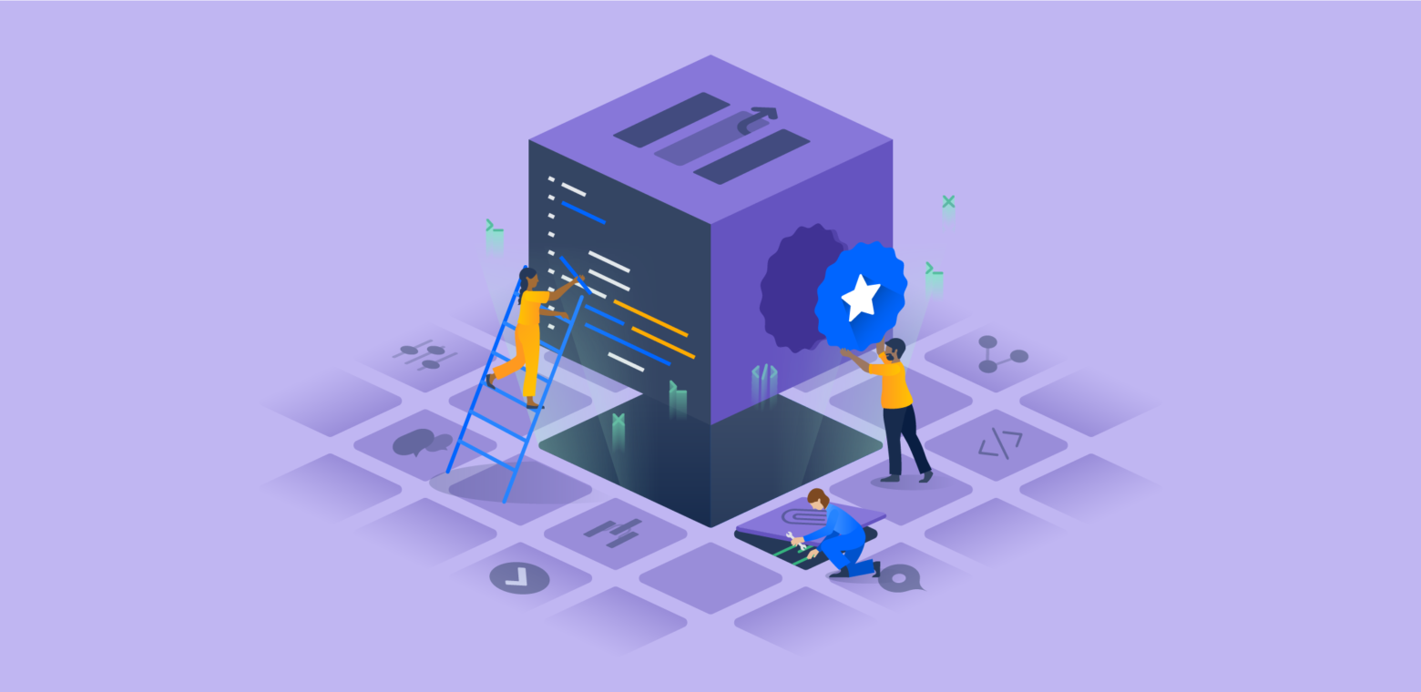 Atlassian's Forge illustration