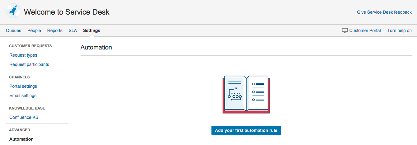 Creating automation rule components